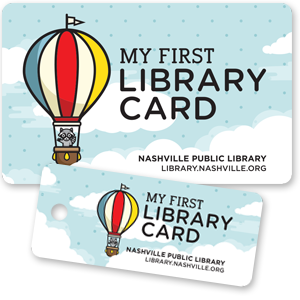 picture of 2 My First Library Card cards